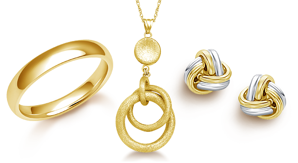 pendant jewellery gold sets necklace