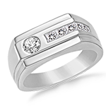 Mens Diamond Rings
