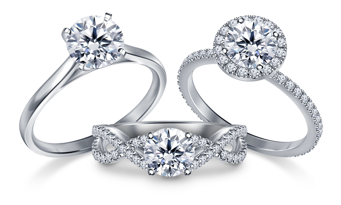 Design Your Own Diamond Jewelry Create Your Own Ring Solitaire