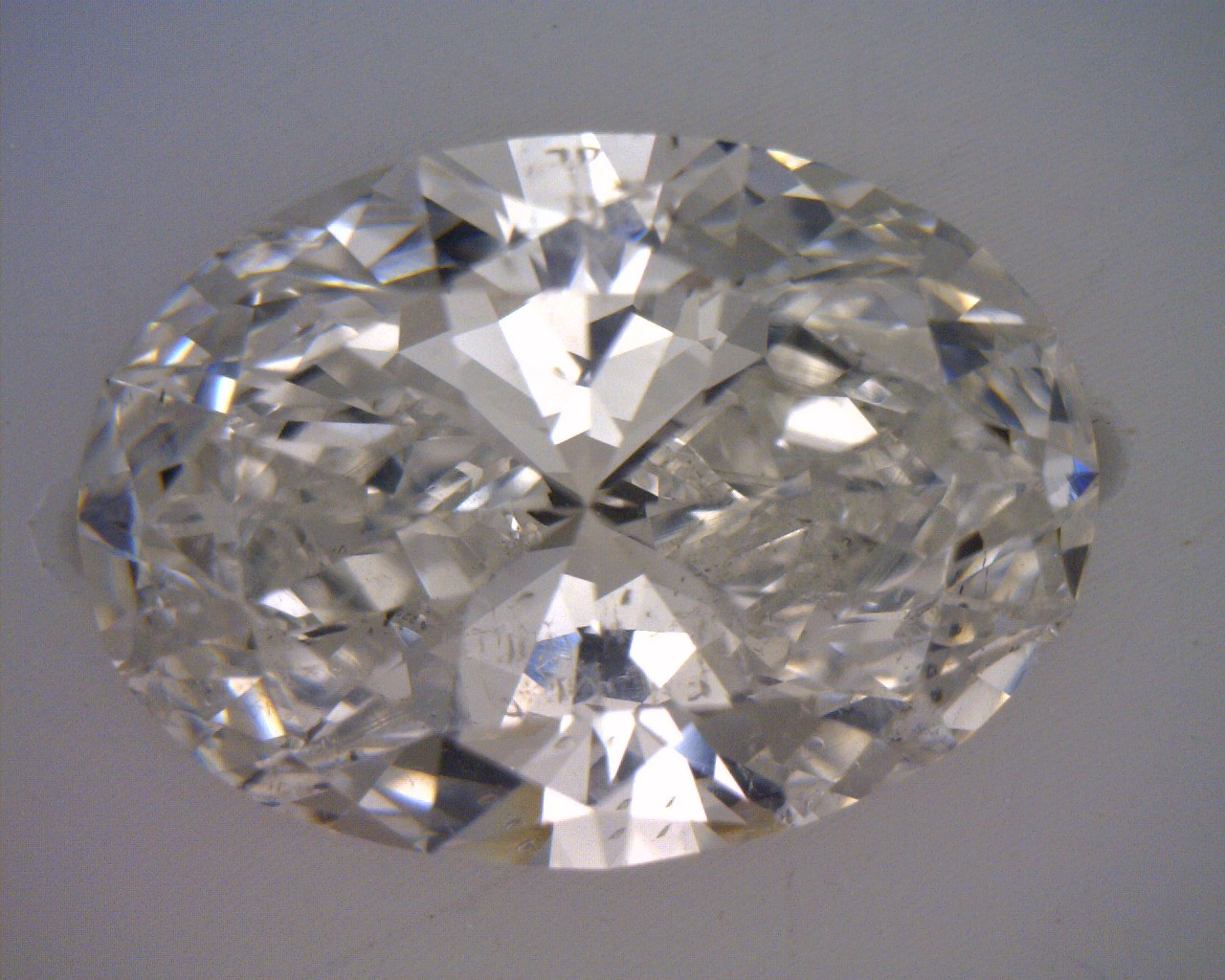 235 Carat Ct Gia Oval Loose Diamond G Color Si2 Clarity Excellent Cut